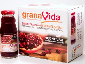 pack de zumo de granada