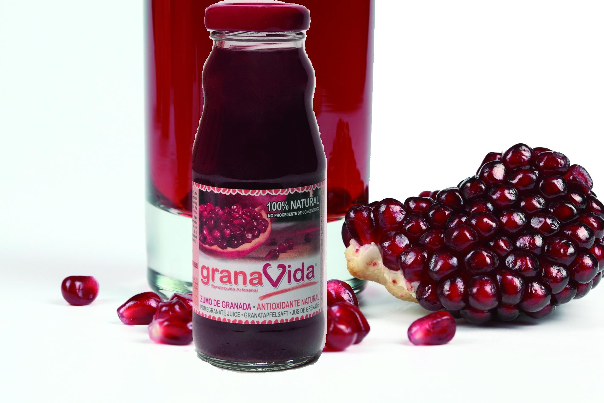 zumo de granada granavida