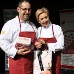 la chef con una estrella michelin Susi diaz y el cocinero Alfons Llorente